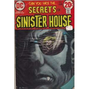 Secrets of Sinister House #9 Comic Book