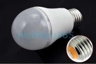3W E27 LED Warm White Light Lamp Globe Bulb 110V 240V Low Consumption