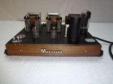 magnavox 9302 6bq5 el84 stereo tube amplifier restored upgraded super