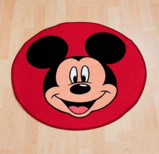 Disney Mickey Mouse Shaped Rug / Mat, New & Official