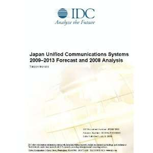Japan Unified Communications Systems 2009 2013 Forecast