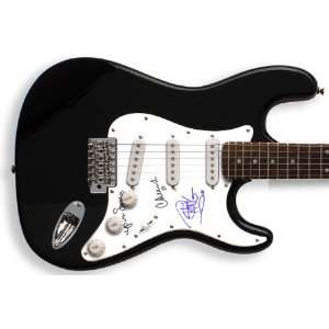 Cheech & Chong Autographed Signed Up in Smoke Guitar