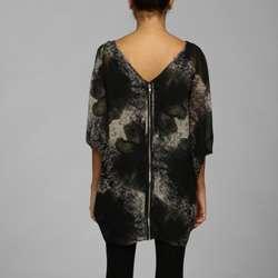 Jessica Simpson Womens Livorno Ocelot Printed Dress
