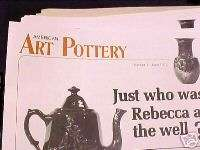 AMERICAN ART POTTERY (periodical)ALL 98 issues,76 84