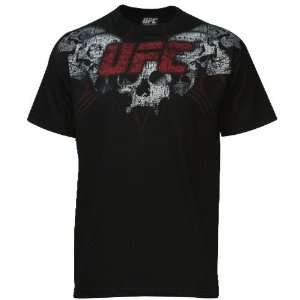 UFC Black Death Chain Fight T shirt