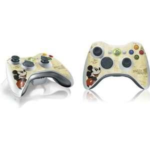 Skinit Old Fashion Mickey Vinyl Skin for 1 Microsoft Xbox 360 Wireless