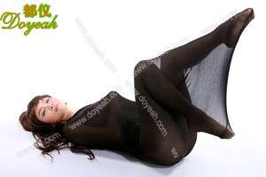 BODYHOSE Nylon COCOON PANTYHOSE Holds 2 People Black!!