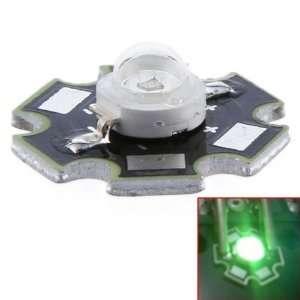 3W High Power Bright Star LED Light Lamp Bulb (Green