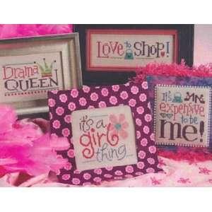 Its A Girl Thing   Cross Stitch Pattern Arts, Crafts