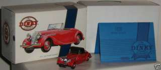 Triumph Dolomite Roadster, #DY17, 1/43 scale, diecast, Dinky Matchbox