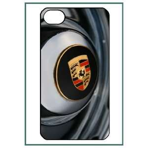 Porsche iPhone 4 iPhone4 Black Designer Hard Case Cover