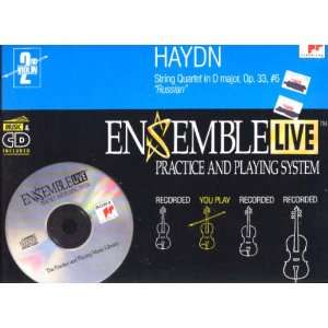 String Quartet 6 / 2nd Violin Haydn, Ensemble Live Music