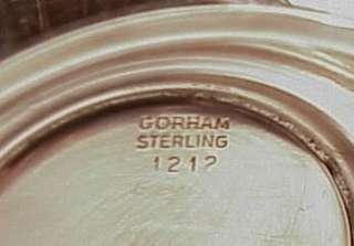 Sterling Silver Gorham Sugar Creamer Set Rose Scroll