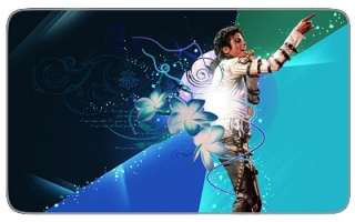 Michael Jackson MJ iPad Tablet Screens Skin Decal Cover