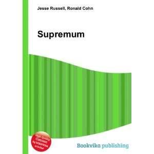 Supremum Ronald Cohn Jesse Russell Books