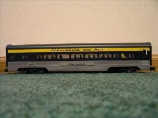 Lionel 6 19153 & 6 19164 Chesapeake & Ohio C&O 6 Car Passenger Set