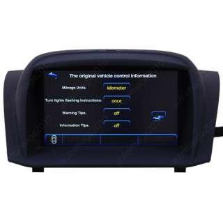 2008 2011 Ford Fiesta Car GPS Navigation System TV DVD