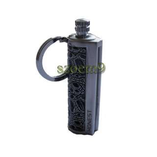 Match box striker Cigar Cigarette lighter Chrome