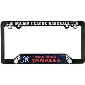 New York Yankees   Logo & Name License Plate Frame MLB Pro