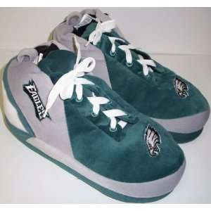 Philadelphia Eagles NFL Plush Sneaker Slippers Sports