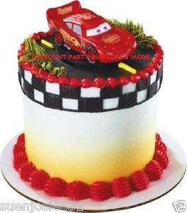 Disney Cars Lightning McQueen Petite Cake Decoration Topper Kit