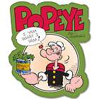 Popeye car bumper sticker decal 5 x 5 items in bargainsyoulove store