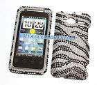 for Sprint HTC Evo Shift 4G   Pirate Crystal Diamond Bling Case Phone