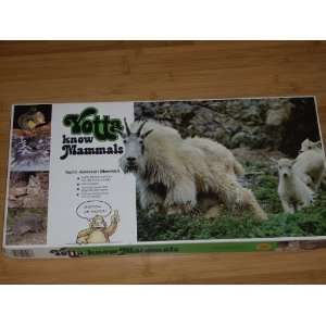 MAMMALS   1982 Family learning Board Game featuring North American
