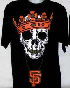 GIANTS SKULL Chain T Shirt Black XL XXL XXXL Mens MMA Club NEW