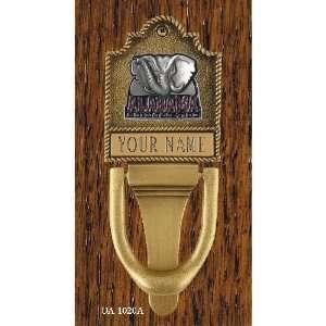 Monogram Club Alabama Crimson Tide Personalized Brass Door