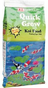 HAI FENG QUICK GROW KOI FOOD 5KG (11LB) MEDIUM PELLETS