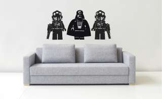 LEGO DARTH VADER   WALL ART STICKERS   VINYL ART DECALS