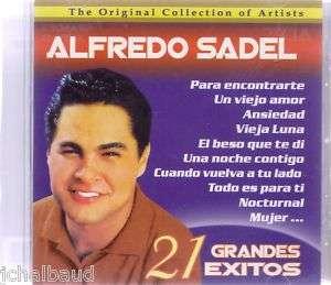 ALFREDO SADEL 21 GRANDES EXITOS VENEZUELA CD BRAND NEW