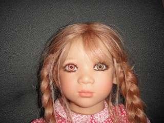 RARE Annette Himstedt Anna I Doll Box Shipper Bi Colored Eyes