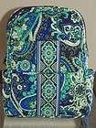 Vera Bradley RHYTHM & BLUES Small Backpack Bag   NWOT SHIPS W/FREE