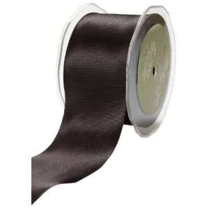 May Arts 3 Inch Wide Ribbon, Black Satin Arts, Crafts