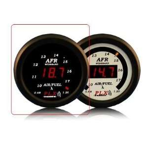 PLX DM5 AFR Black DM 5 Air Fuel Ratio Single Gauge   Black Automotive
