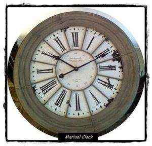 Southern Living at HOME Willow House MARISOL WALL CLOCK LARGE ROUND