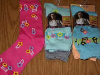 Women Ladies Novelty color crew sock Funky Funny 7019530405622