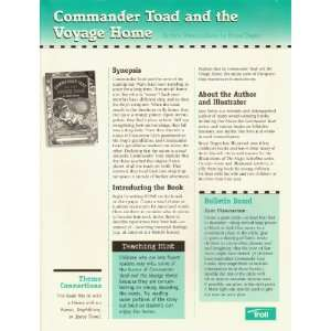 Commander Toad and the Voyage Home Teachers Guide