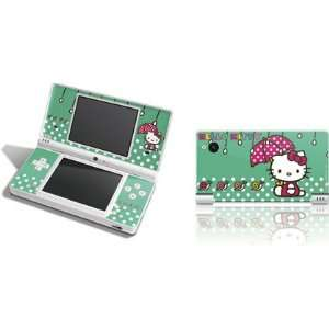 Skinit Hello Kitty Polka Dot Umbrella Vinyl Skin for DSi