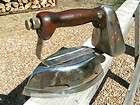 1930s Akron Lamp Company Diamond Brand Gas Clothes Pressing Iron