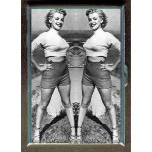 KL MARILYN MONROE SEEING DOUBLE ID CREDIT CARD WALLET CIGARETTE CASE