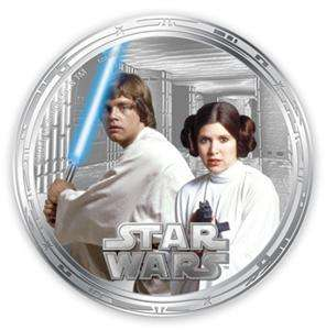 Niue 2011 Star Wars   Millennium Falcon 4 Coins 1oz .9999 Silver Proof
