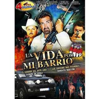 De Cholo / Los Corridos Mas Perrones / Bandazo Norteno (4 Peliculas