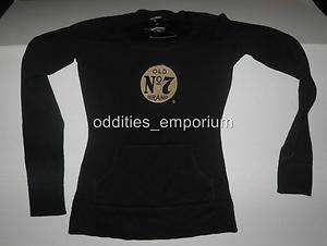 Alternative Rock Metal JACK DANIELS NO 7 Whiskey Black Hoodie Shirt M