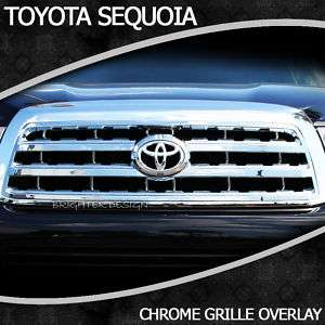Toyota Sequoia Chrome Grille Factory Style 2008 2012