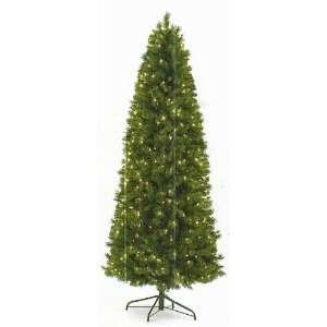 9 Ft Prelit Slim Caucasian Pine Christmas Tree by Select