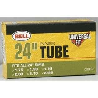 Bell Sports 1001998 Universal Bike Tire Tube 24