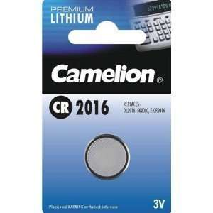 Lithium Coin Cell Battery 3v, Cr2016 (Cr Electronics